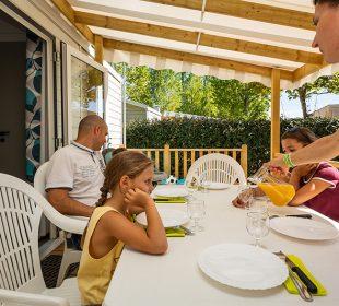 location mobil home familial en vendée