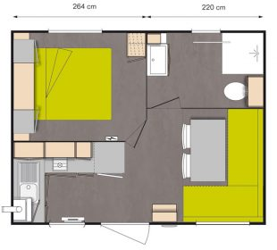 beach mobile home layout