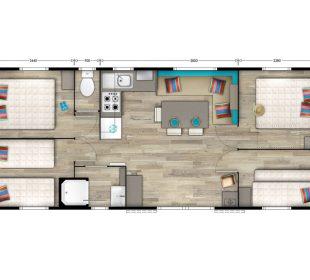 plan mobil-home Sable
